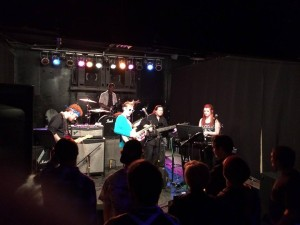 Performing with students! The Cole Jenkins senior project at The Viaduct, Tiffin, OH (2015)