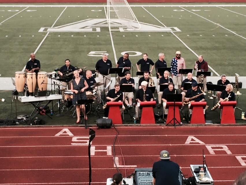 Kroc Center Big Band, Ashland, OH on Independence Day 2015