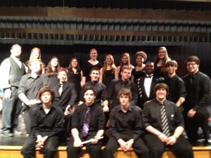 PMEA District 7 Jazz Vocal Ensemble, March 2013, Mechanicsburg, PA