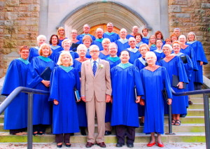 Westmont Presbyterian Choir (2011) with Carl Miller